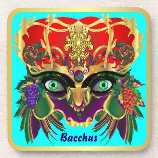 Mardi Gras Mythology Bacchus View Hints Please Drink Coaster