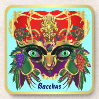 Mardi Gras Mythology Bacchus View Hints Please Drink Coasters