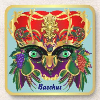 Mardi Gras Mythology Bacchus View Hints Please Beverage Coasters