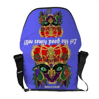 Mardi Gras Mythology Bacchus View Hints Please Courier Bag
