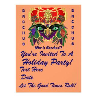 Mardi Gras Mythology Bacchus View Hints Please Custom Announcements
