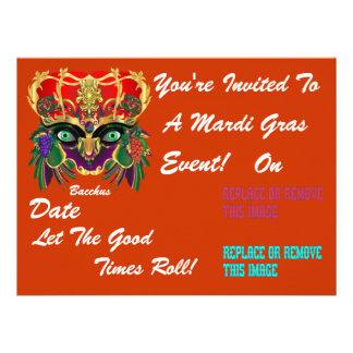 Mardi Gras Mythology Bacchus View Hints Please Personalized Announcements