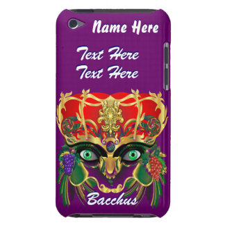 Mardi Gras Mythology Bacchus View Hints Please iPod Case-Mate Case