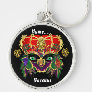 Mardi Gras Mythology Bacchus View Hints Please Keychains