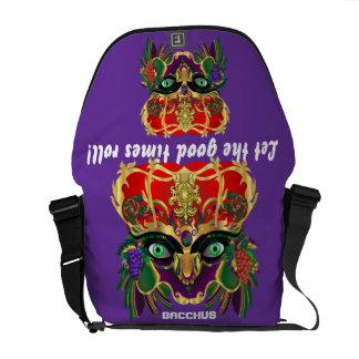 Mardi Gras Mythology Bacchus View Hints Please Messenger Bag