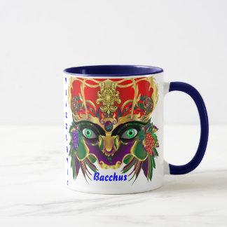 Mardi Gras Mythology Bacchus View Hints Please Mug