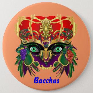Mardi Gras Mythology Bacchus View Hints Please Pinback Button