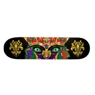 Mardi Gras Mythology Bacchus View Hints Please Skateboard