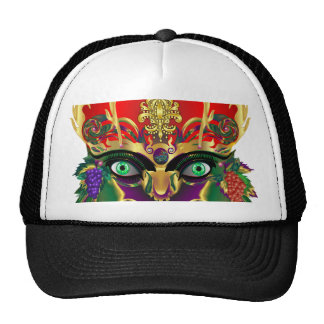 Mardi Gras Mythology Bacchus View Hints Please Trucker Hat