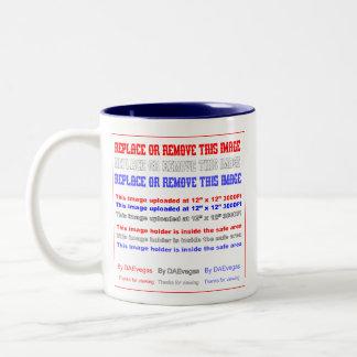 Mardi Gras Mythology Bacchus View Hints Please Two-Tone Coffee Mug