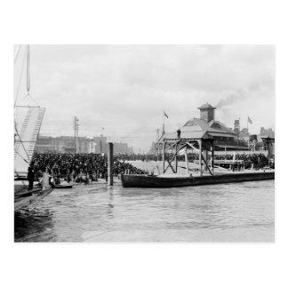 Mardi Gras, New Orleans: 1910 Postcard