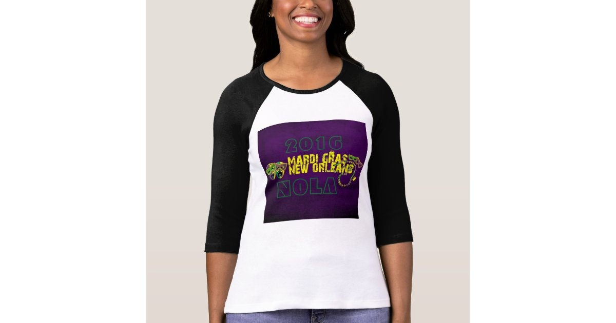 Mardi gras new orleans nola 2016 t shirt zazzle for T shirt printing new orleans