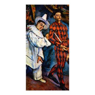 Mardi Gras painting by Paul Cezanne classic art Card