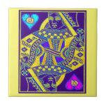 Mardi Gras Parade Queen by Sharles Ceramic Tile