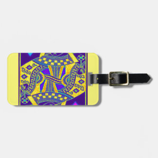 Mardi Gras Parade Queen by Sharles Travel Bag Tags