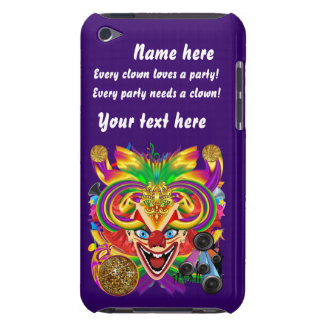 Mardi Gras Party Clown View Hints Please Barely There iPod Case