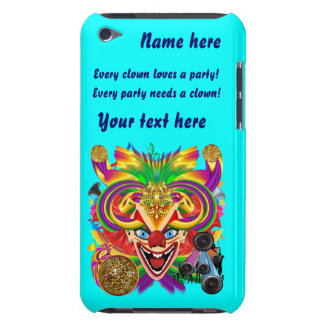 Mardi Gras Party Clown View Hints Please Barely There iPod Cover