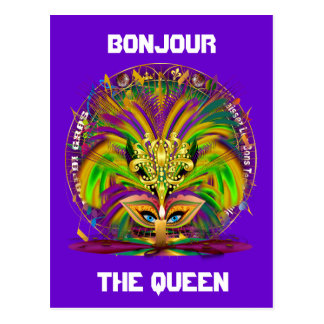Mardi Gras Party Combo Pack Pick from 3 designs Postcards