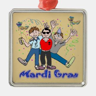 Mardi Gras Party Guys Ornament