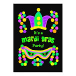 Mardi Gras Party Invitation 13 Cm X 18 Cm Invitation Card