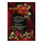 Mardi Gras Party Invite