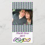 "Mardi Gras Party Photo Card<br><div class=""desc"">Mardi Gras Party Photo Card</div>"