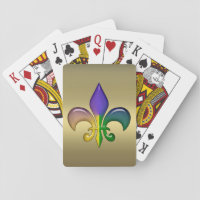 Mardi Gras Party Playing Cards