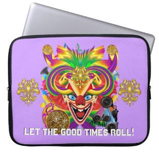Mardi Gras Party Please Important  Note Below Laptop Sleeve