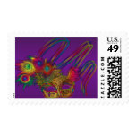 Mardi Gras Party Postage Stamps