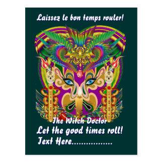 Mardi Gras Party Theme  Please View Hints Postcards