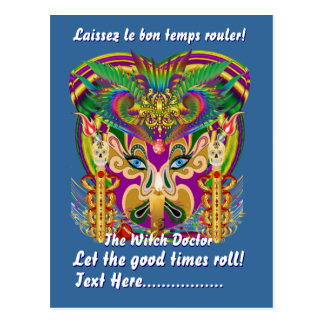 Mardi Gras Party Theme  Please View Hints Post Cards