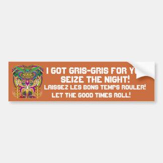 Mardi Gras Party Theme  Please View Notes Bumper Sticker