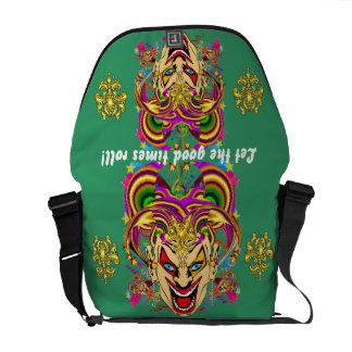 Mardi Gras Party Theme  Please View Notes Courier Bag
