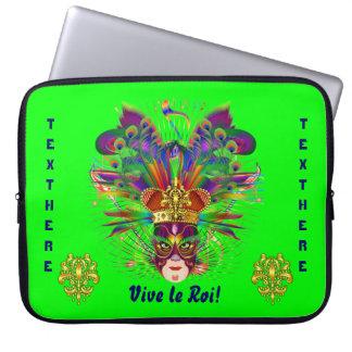 Mardi Gras Party Theme  Please View Notes Laptop Sleeve