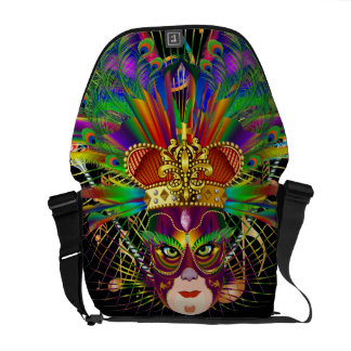 Mardi Gras Party Theme  Please View Notes Messenger Bag