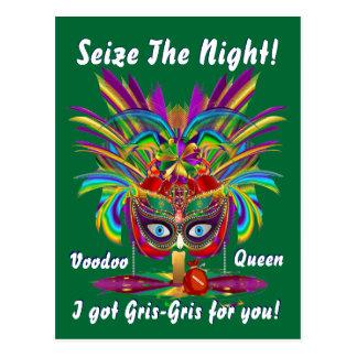 Mardi Gras Party Theme  Please View Notes Postcard