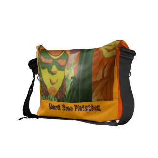 Mardi-Gras Platation - Acrylic on Canvas.jpg, M... Messenger Bag