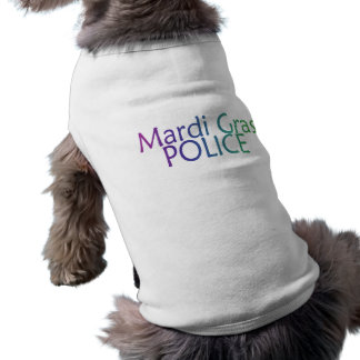 Mardi Gras Police Shirt