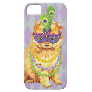 Mardi Gras Pomeranian iPhone SE/5/5s Case