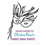 Mardi Gras! Postcard