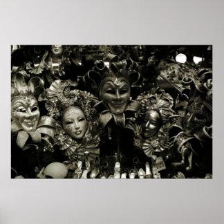 Mardi Gras Poster The Venice Carnival