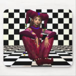 Mardi Gras Princess - Fairy Mousepad