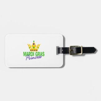 MARDI GRAS PRINCESS BAG TAGS