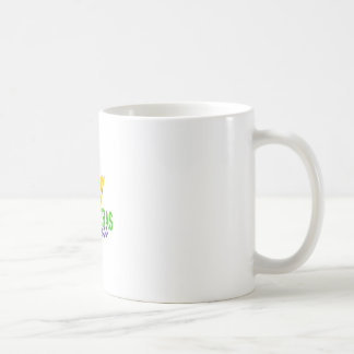 MARDI GRAS PRINCESS CLASSIC WHITE COFFEE MUG