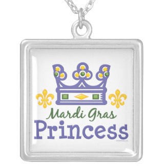 Mardi Gras Princess Necklace
