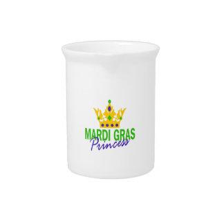 MARDI GRAS PRINCESS PITCHER