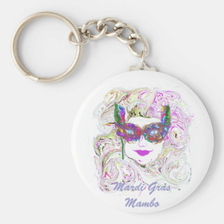 Mardi Gras Products Keychain