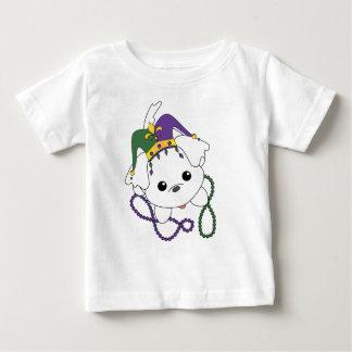 Mardi Gras Puppy Baby T-Shirt