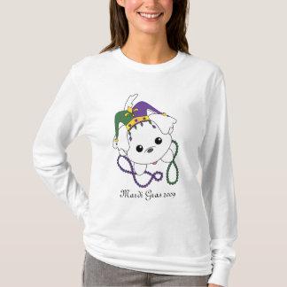 Mardi Gras Puppy T-Shirt