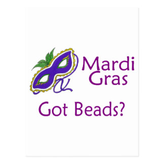 Mardi Gras Purple Post Cards